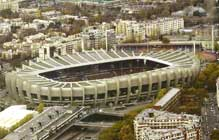 Parc des Princes Paris 1972