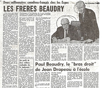 Les frères Beaudry